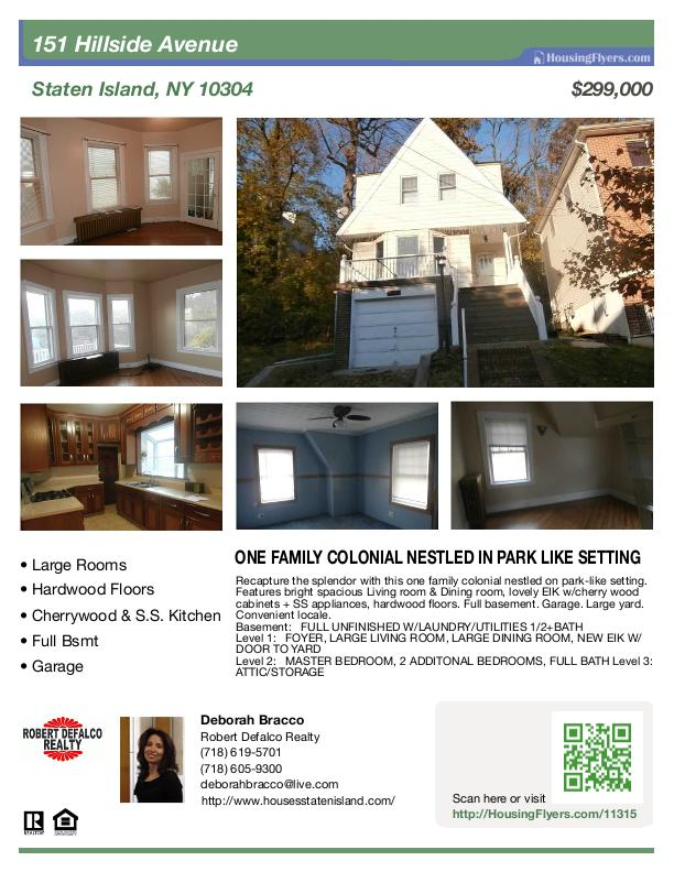 Low-Resolution Real Estate Flyer Preview